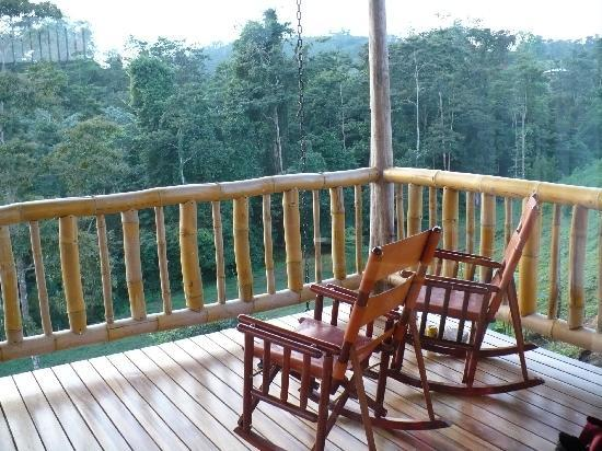 Leaves and Lizards Arenal Volcano Cabin Retreat: Our tree house in the jungle