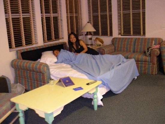 One of the couches is a big sofa bed - Picture of Disney\'s Old Key ...