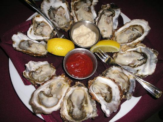 Mykel's: local Kachemak Bay oysters