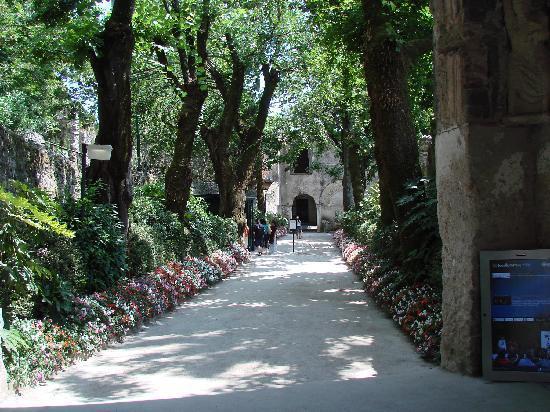 Villa Rufolo : 入口