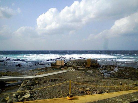 Furofushi Onsen: 露天風呂の全景