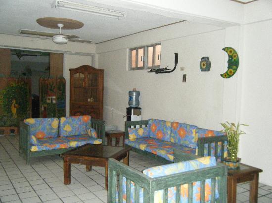 Hotel D'Gomar: Sitting area