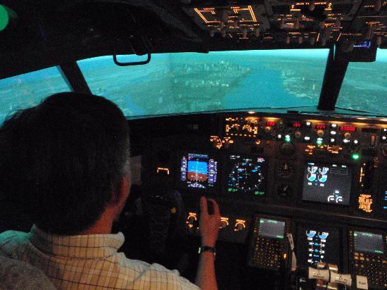 Flight Experience Flight Simulator: Landing @ Kai Tak