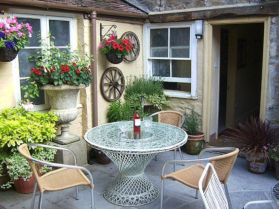 The Bakehouse: the courtyard