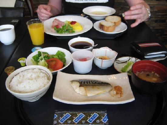 Shibuya Granbell Hotel: breakfast