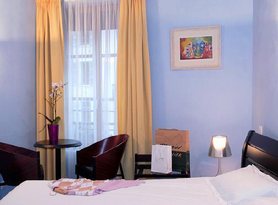 Hôtel Du Palais de l'Isle : chambre double premium