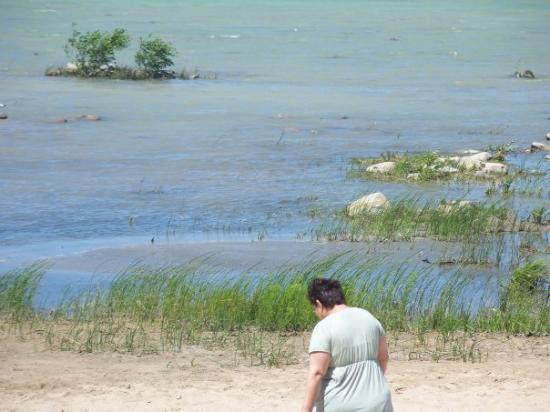 Traverse Area Recreation and Transportation Trails: 7/11/09 ~ Lake Michigan @ Traverse City