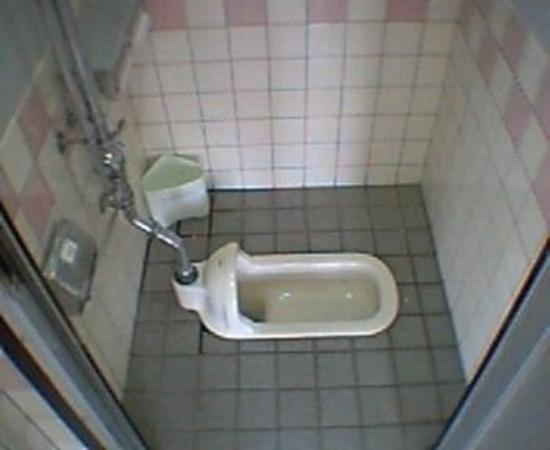 Japanese toilet picture of iwakuni yamaguchi prefecture for Bathroom in japanese