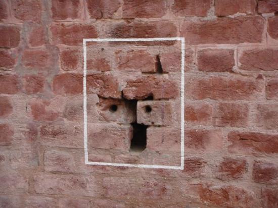 Jallianwala Bagh: bullet holes at the jallian wala baug