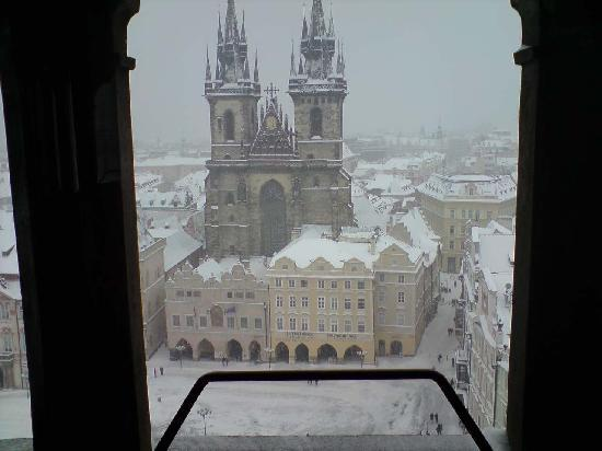 Prag, Tjekkiet: View from Astronomical Tower 2010