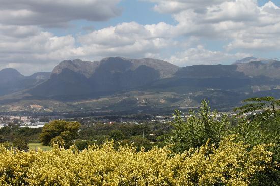 Aan de Paarlberg : View from the balcony