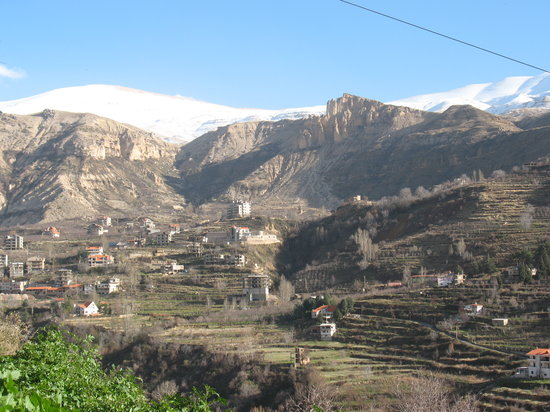 Bcharre, Libanon: View of the Qadisha Valley