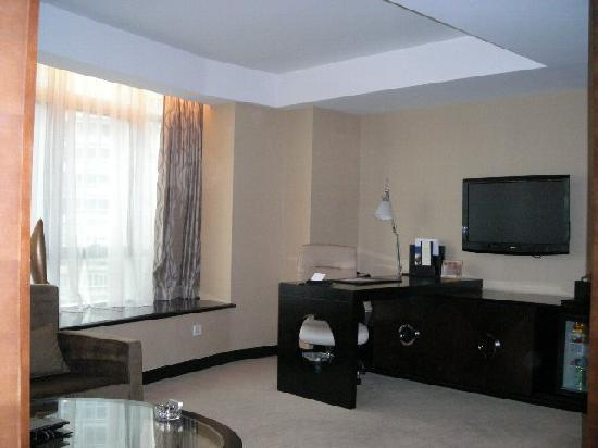 Zhongbang Hotel: 広めのダブルルーム