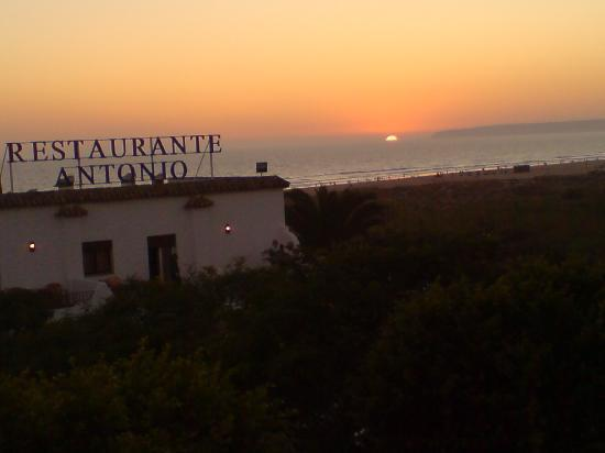 Hotel Antonio: puesta de sol desde la habitación