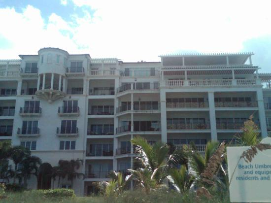 The Regent Grand : View from Beach of My Balcony