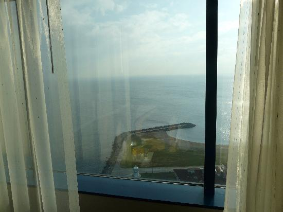 Renaissance Polat Istanbul Hotel : The view from our room out to sea