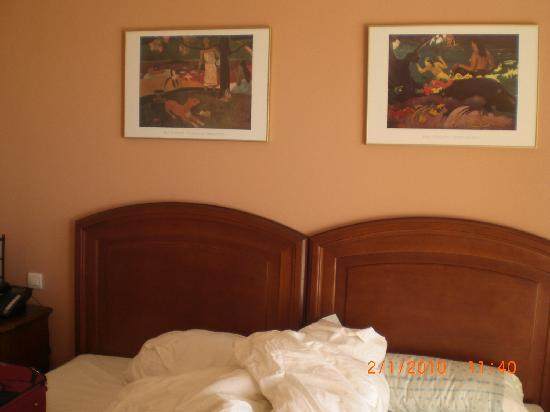 Ecohotel Puerto de Ojen: La cama