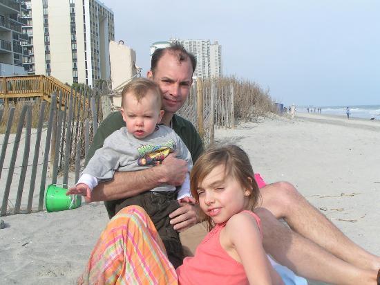 Grand Atlantic Ocean Resort: warm weather in March