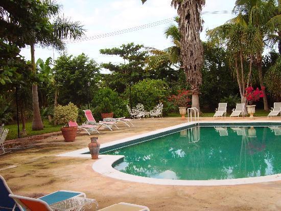 Hacienda San Pedro Nohpat: one of the pools