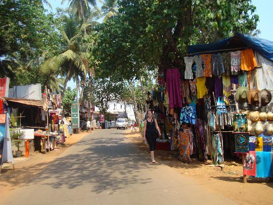 Goa, India: Baga Road