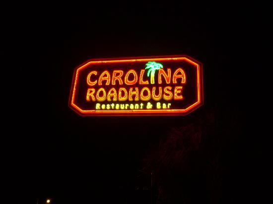 Carolina Roadhouse : Road Sign