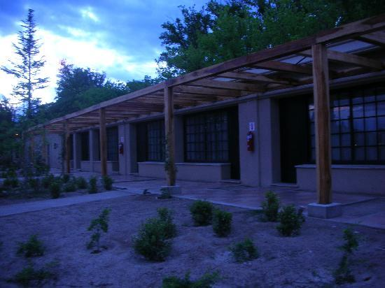 Posada Salentein: Exterior of guest rooms at Salentein