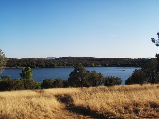 Parker Canyon Lake : View from one of the camp sites