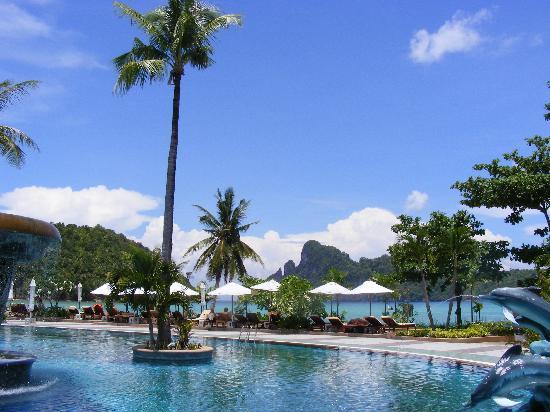 Phi Phi Island Cabana Hotel: herrlicher Ausblick