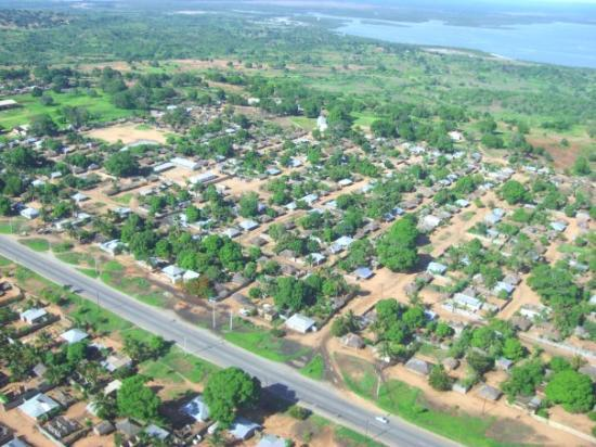 Pemba Mozambique By Air