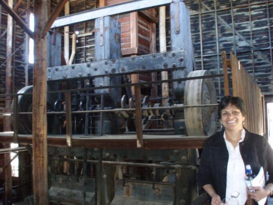 Ballarat, Australia: thats the quartz crushin machine used in gold mining...