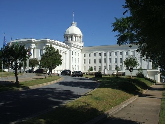 Alabama State Capitol : The state capital building