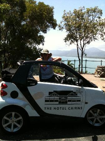The Hotel Cairns: Very Smart Car