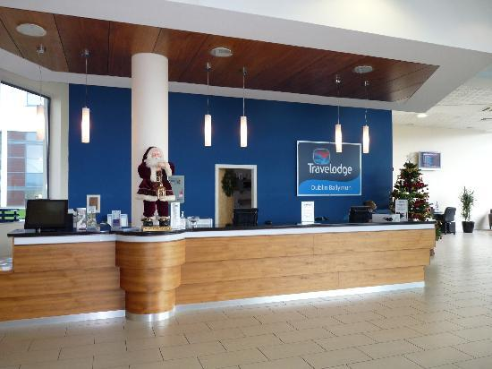 reception area picture of travelodge dublin airport south hotel