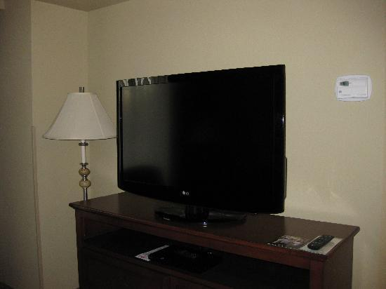 Staybridge Suites North Charleston: largest flat screen 1 of 3