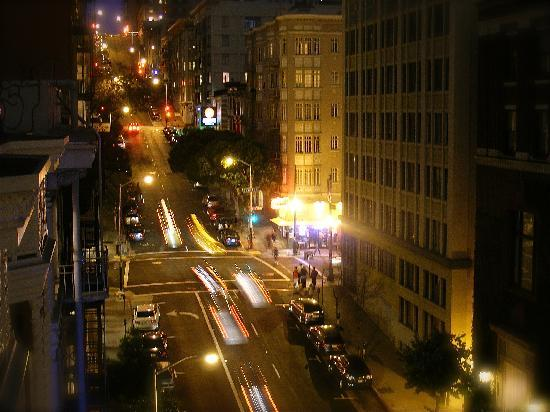 داكوتا هوتل: View from 8th floor balcony