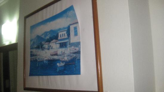 Commodore Hotel: beautiful artwork!