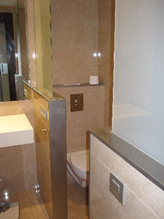 Hotel Ciutat de Girona: Bathroom
