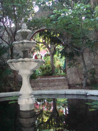 The Villa Merida: My favourite fountain