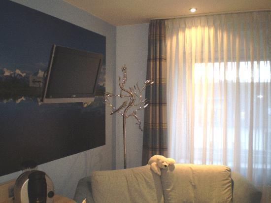 โรงแรมลอคคูเมอร์โฮฟ: Locummer Hof Hotel Living area