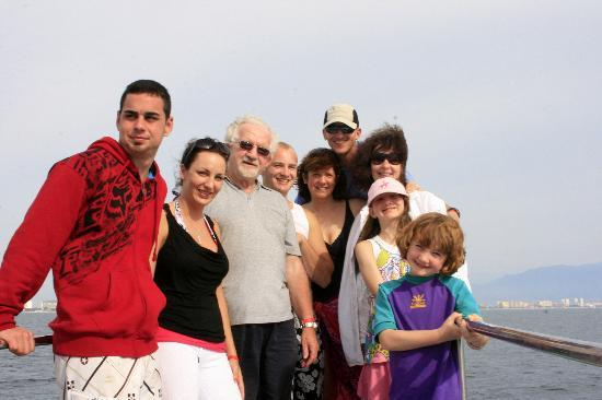 Geronimo Cruise: Whale Watching/Kayak/Beach Trip: my family