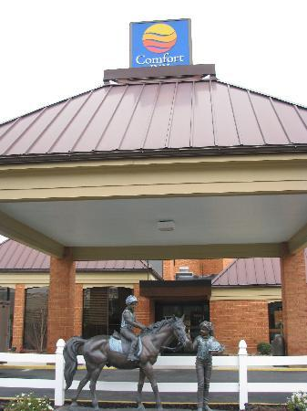 Comfort Inn Virginia Horse Center: The best Comfort Inn I have stayed in.