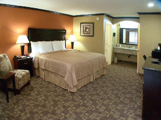 Quality Inn, Near Chico State: king bed