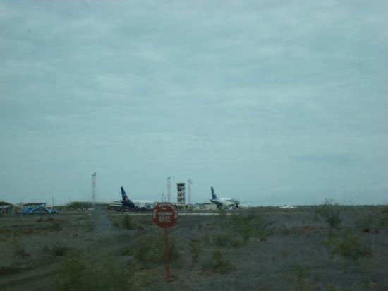 Baltra airport, Galapagos Islands