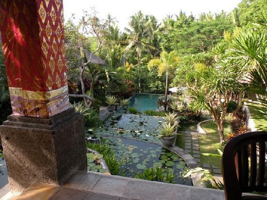 Kusuma Sari Villa & Spa: Gardens