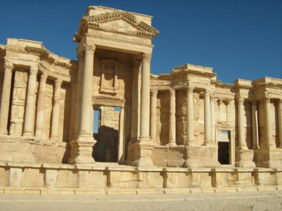 Roman Theatre of Palmyra: Palmira