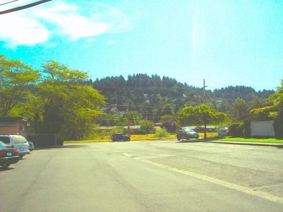 SE hills of Eugene