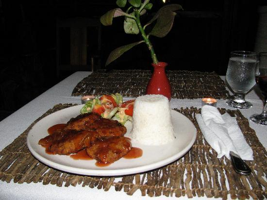 Idlers' Rest Beach Hotel : and a nice dinner