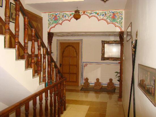 Sunder Palace Guest House: la décoration intérieure