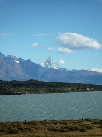 Helsingfors: View of Mount Fitzroy from the estancia