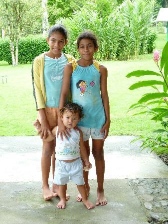 Saladero Eco Lodge : Paulina's grandchildren